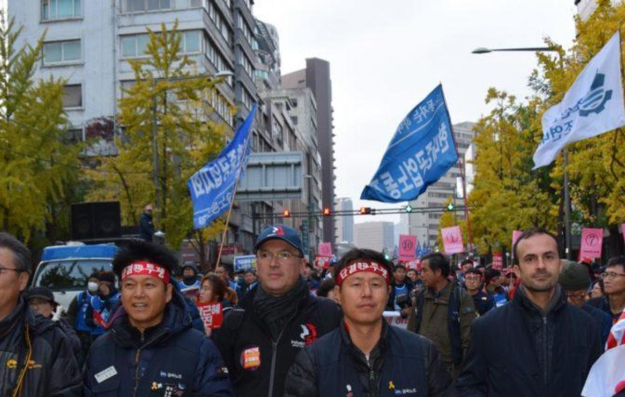Koreans Marching